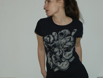 Patrycja wearing Fight the Good Fight by jimiyo