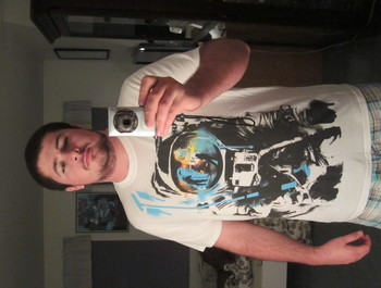 paddyseesstars wearing Interstella Astronaut by LukeBatten