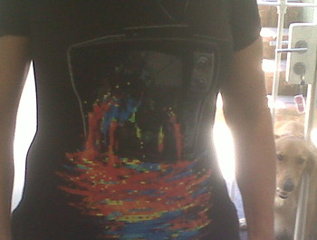 john14 wearing Pixel Overload by nicebleed