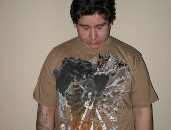graffitiboytx wearing Leo Regalis by Incarnadine