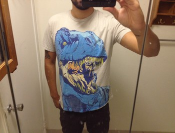 frank_dre wearing Limited Edition - DINO FRENZY by MR-NICOLO
