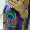 GB_ENIGMA wearing Spectrum Skull by GB_ENIGMA
