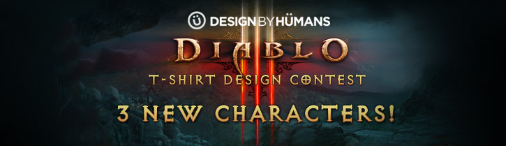 Three New Diablo III Characters Added + Submissions Extended