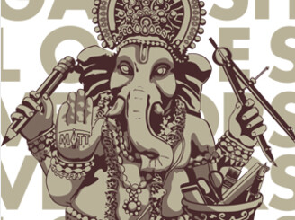 Ganesh Loves Vectors! by _Matt
