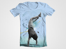 Break Dance Tee T-Shirt Design by