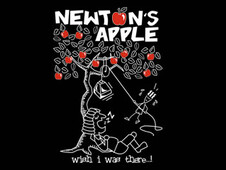 Newton's Apple T-Shirt Design by