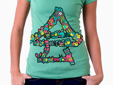 Kanji Monsters T-Shirt Design by
