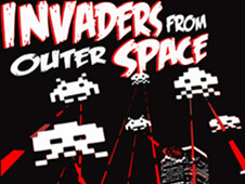 Invaders From Outer Space T-Shirt Design by
