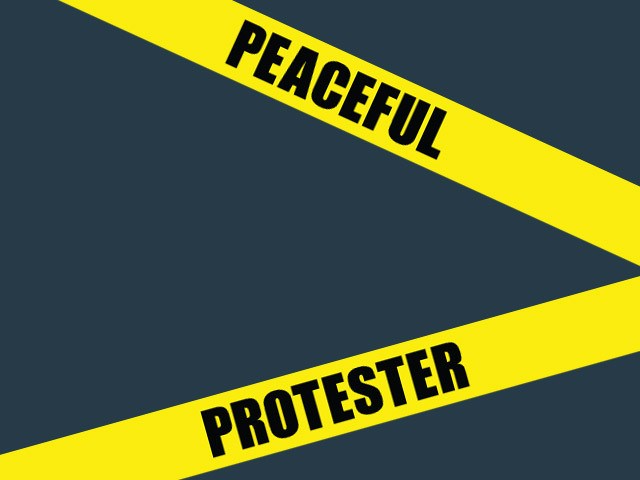 Peaceful Protester