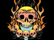 skull king T-Shirt Design by