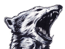 Wolf Howl T-Shirt Design by