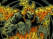 Burn Like Hell T-Shirt Design by