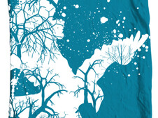 Winters Night T-Shirt Design by