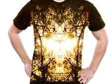Streaks of Gold T-Shirt Design by