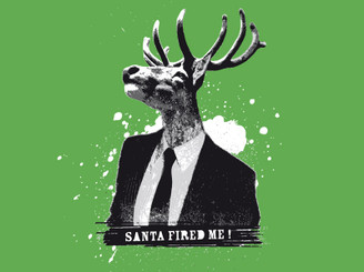 Santa fired me by DOSEprod
