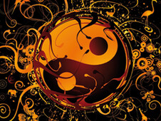yin yang T-Shirt Design by