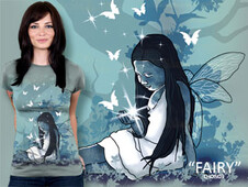 Fairy T-Shirt Design by