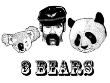3 Bears T-Shirt Design by