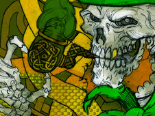 leprechaun T-Shirt Design by