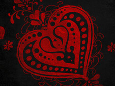 Ace Of Hearts T-Shirt Design by