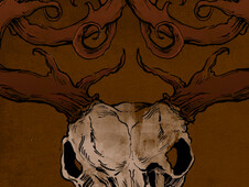 Celtic Elk T-Shirt Design by