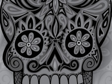 Calavera III T-Shirt Design by