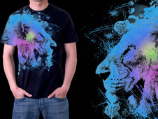 Lion constellation T-Shirt Design by