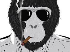 Mafia of the Apes T-Shirt Design by