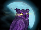 Purple Owl Moon by Dengar