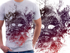 Ethereal Mask T-Shirt Design by