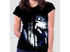 lost in the woods T-Shirt Design by