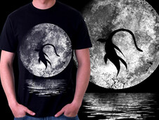 Nessie´s Night Out T-Shirt Design by