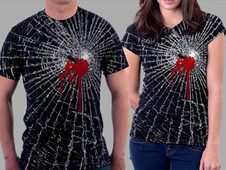 BLEEDING ME. T-Shirt Design by