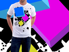 Pixelation T-Shirt Design by