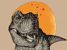 Mr. T- Rex T-Shirt Design by