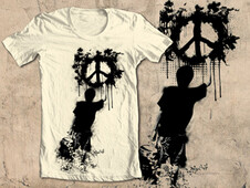 peace not war T-Shirt Design by