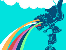 Rainbow Maker T-Shirt Design by