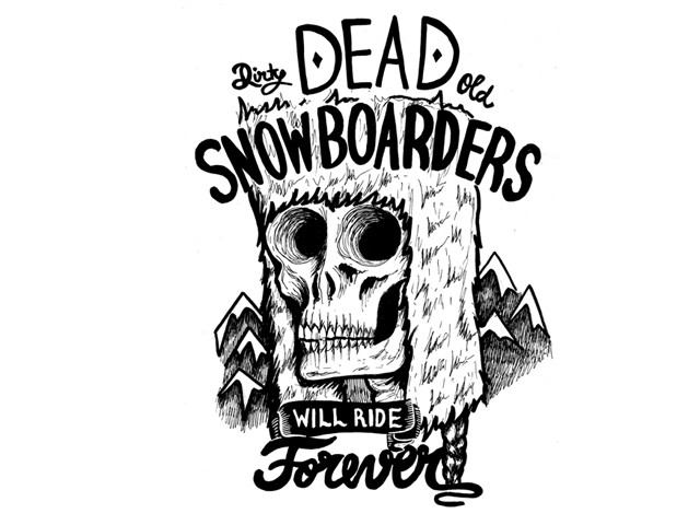 Snowboarders will ride forever