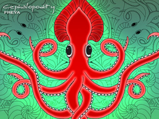 Cephalopodity by FreyaDesigns