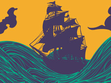 High seas T-Shirt Design by