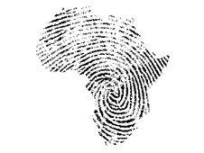 African fingerprint T-Shirt Design by