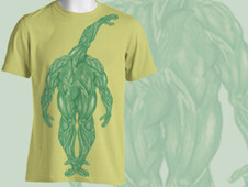 Foot monster T-Shirt Design by