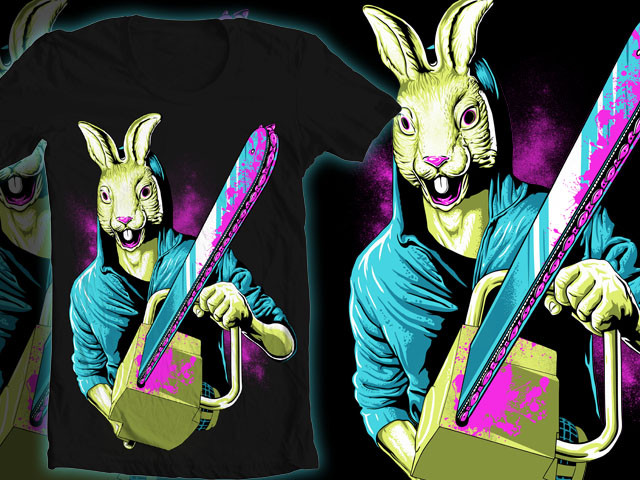 Rabbit With A Chainsaw
