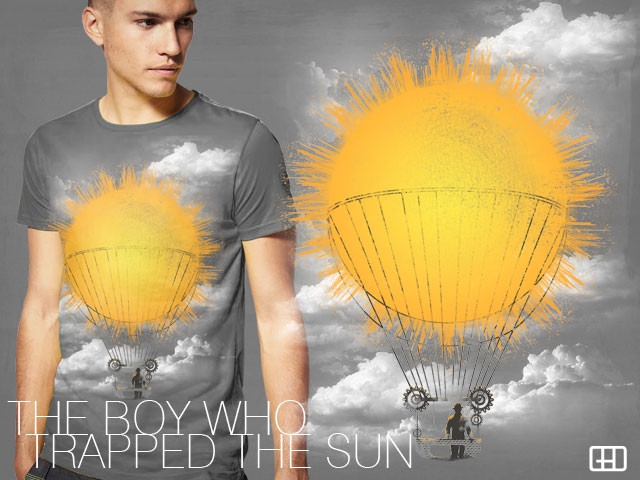 THE BOY WHO TRAPPED THE SUN
