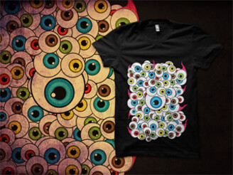 Eyeballs by Ismpof