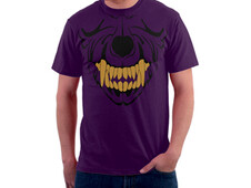 Husky Skull T-Shirt Design by