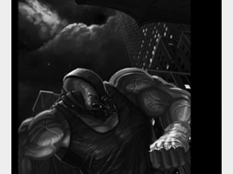 BANE vs THE BAT! by xBIGxPIGx