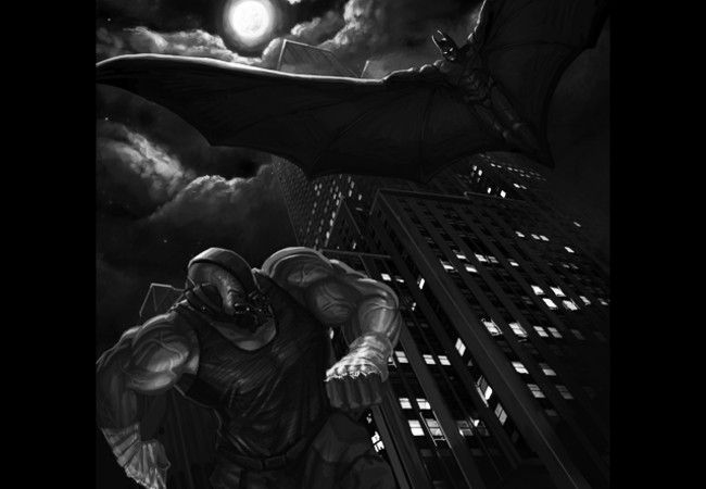 BANE vs THE BAT!