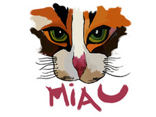Miaow T-Shirt Design by