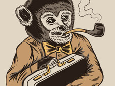 Monkey Business T-Shirt Design by